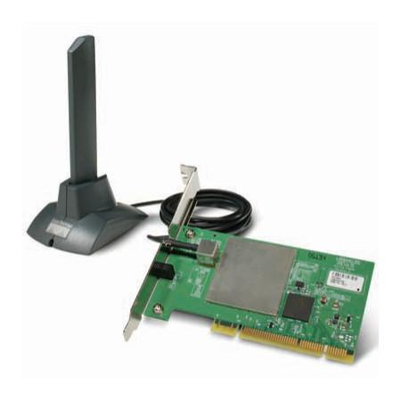 Cisco Aironet 802.11A/B/G Wireless PCI Adapter AIR-PI21AG-A-K9