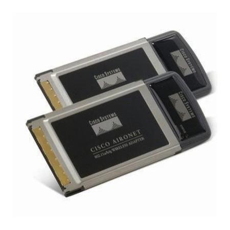 Cisco Aironet 802.11a/b/g Wireless CardBus Adapter AIR-CB21AG-A-K9