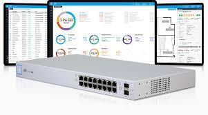 Thiết bị chuyển mạch UniFi Switch 16 150W : US-16-150W
