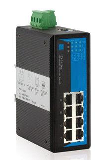 Switch Ethernet công nghiệp dự phòng 8 cổng 100 / 100M được quản lý WEB