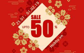 SALE UPTO 50% - SALE KHỦNG ĐÓN TẾT 2019