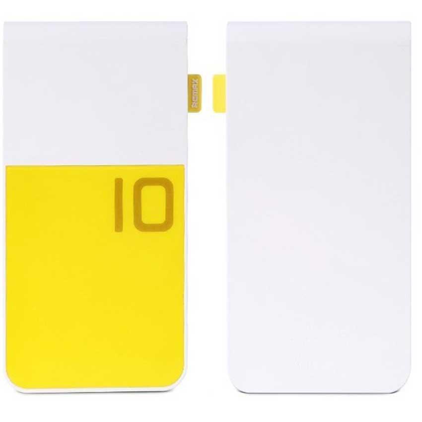 Pin dự phòng Remax Colorful 10000mAh Yellow