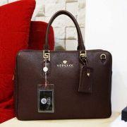 Túi Xách Da Versace 0933-2 Nâu