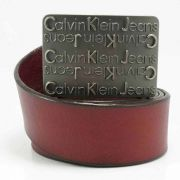 Thắt Lưng nam da thật Calvin Klein Màu Đỏ DN-003