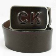 Thắt lưng nam da thật CK DN-013BD màu nâu