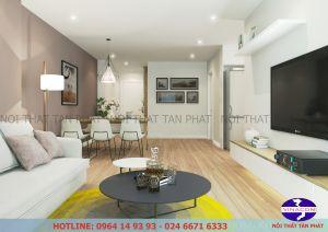 Thiết kế nội thất chung cư FLC Star Town - Ms. Yến_1805