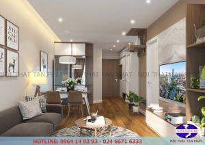 Thiết kế nội thất chung cư HD Moon City