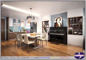 Dự án GARDEN HILL 99 Trần Bình -  Căn hộ mẫu A801