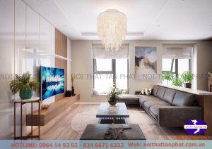 Thiết kế nội thất chung cư Eco Green City - Mr. Thiện  3007