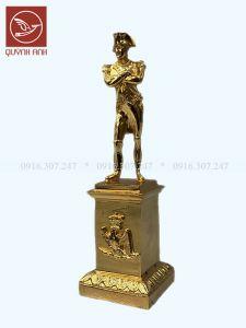 Tượng Napoleon - Mạ Vàng 18k