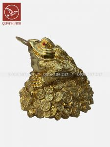 Cóc Đồng - Dát Vàng 24k