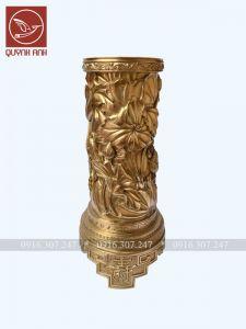 Lọ Hoa Đồng Vàng - Mẫu 5
