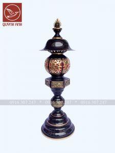 Đèn Đồng Mạ Màu Giả Cổ - Mẫu 2