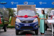 Xe tải thùng Trường Giang Foton 1.2L 2018