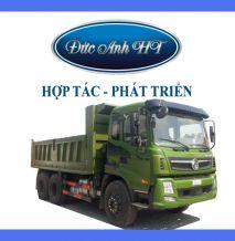 Xe tải ben Trường Giang Dongfeng 3 chân