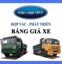 Bảng Giá Xe Tải Trường Giang Đông Phong Tháng 8/2019