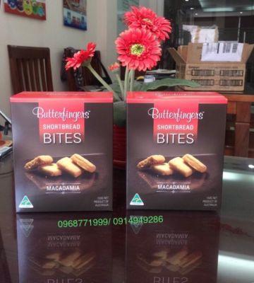 Bánh Bites macca Úc