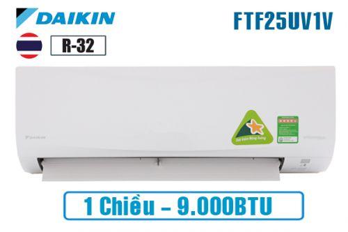 Máy Lạnh DAIKIN 9000BTU 1 chiều FTF25UV1V ( 2020)