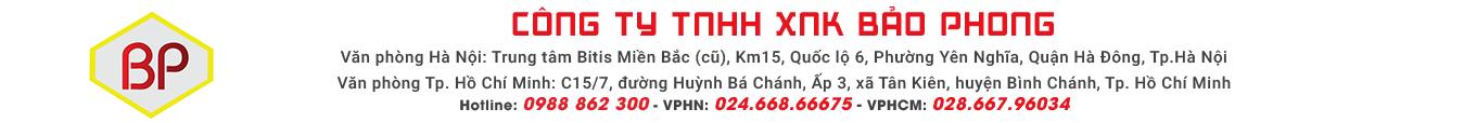 Công ty TNHH XNK Bảo Phong