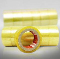 Băng dính OPP trong vàng chanh