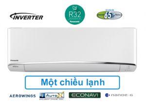 ĐIỀU HÒA PANASONIC 12.000 BTU 1 CHIỀU INVERTER GAS R32, HÀNG CAO CẤP