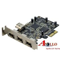 Card PCI-Express to 1394 - 4Port