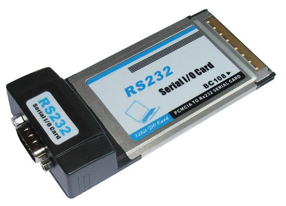 Card PCMCIA to Com (RS232)
