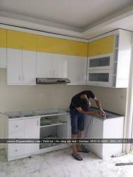 Thi công lắp đặt tủ bếp TB-07