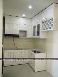 Thi công lắp đặt tủ bếp TB-08