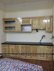 Thi công lắp đặt tủ bếp TB-09