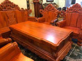 Sofa tân cổ điển gỗ cao cấp (SF-38)