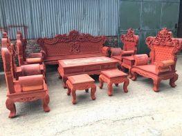 Bộ hoàng gia gỗ hương đỏ nam phi 10 món (BG-09)