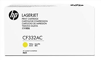 HP 654A Ylw Contract LJ Toner Cartridge
