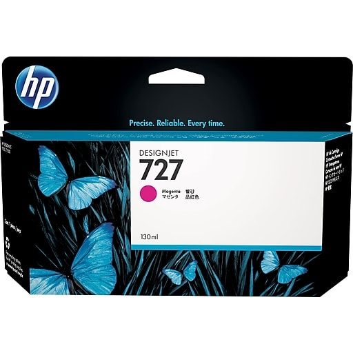 HP 727 130-ml Magenta Ink Cartridge