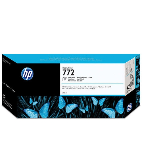 HP 772 Photo Black 300 ml Ink Cartridge