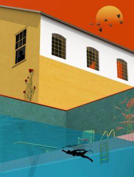 Tishk Barzanji - hoạ sỹ vẽ tranh siêu thực bằng sự cô độc lo âu