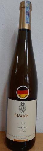 Rượu vang Hauck Riesling Spatlese 12.5o 750ml