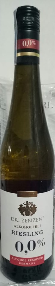 Rượu DR ZenZen  Alkoholfrei Riesling