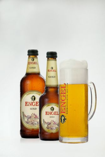 Bier Engel Gold