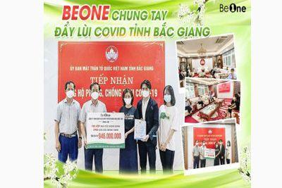 Ngũ cốc Beone ủng hộ sản phẩm trị giá gần 1 tỷ đồng cho tỉnh Bắc Giang chống Covid-19