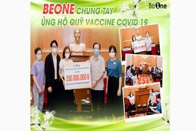 Công Ty Nhật Linh ủng hộ 200 triệu đồng cho Quỹ Vaccine Covid-19