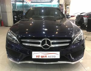 Xe Mercedes Benz C300 AMG 2.0AT 2016 - Xanh CavanSite