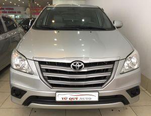 Xe Toyota Innova 2.0E 2015 - Bạc