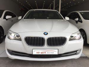 Xe BMW 5 Series 520i 2012 ĐK 2013 - Trắng