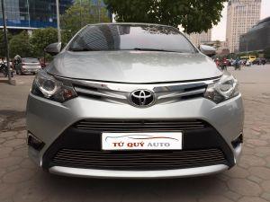 Xe Toyota Vios 1.5G 2014 - Bạc