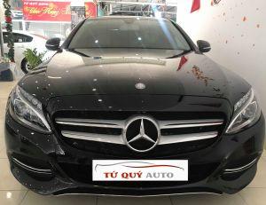 Xe Mercedes Benz C class C200 2015 - Đen