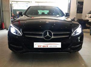 Xe Mercedes Benz C class C200 2015 - Màu Đen