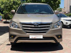 Xe Toyota Innova 2.0E 2015 - Vàng cát