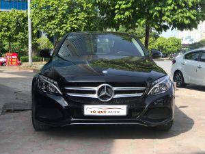 Xe Mercedes Benz C class 200 2.0AT 2015 - Đen