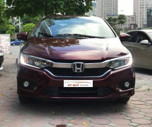 Xe Honda City TOP 1.5AT 2017 - Đỏ mận